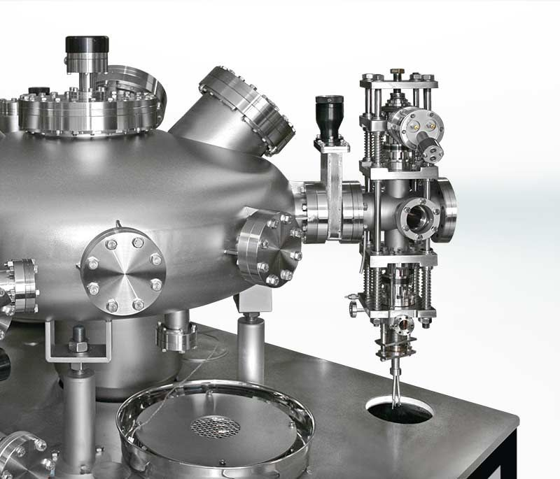 High Pressure Reactor configuration with RDC