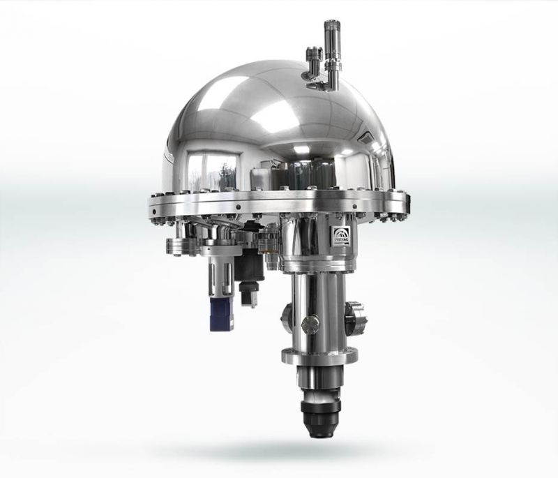 Hemispherical energy analyzer EA15